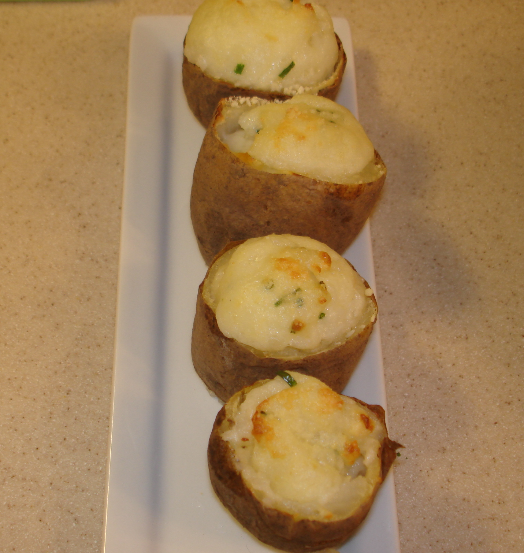 Foodie Recipe for Double baked potato