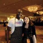 First of many blurry pictures. Sorry Chef Trevor!