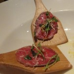 Michael Jordan's Steak House Carpaccio