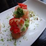 Shrimp Brushetta GT Fish and Oyster