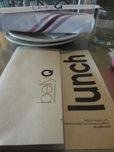 bellyQ menu
