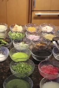 Beautiful Salpicon preparation