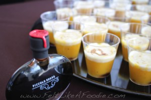 Piccolo Sogno: Pumpkin Soup, spicy crema and aged balsamic vinegar