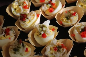 Mity Nice Bar & Grill: Deviled egg with lump crab