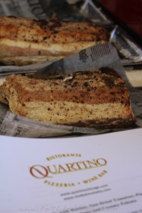 Quartino: Housemade Pancetta (which I shamelessly wanted to take home with me!)