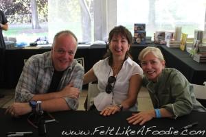 Tony Mantuano, Kathy Mantuano and Sara Moulton