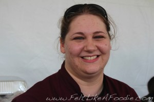 Rockit Bar & Grill's talented Chef, Amanda Downing.