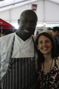 One of my favorites, Chef Trevor Hoyte