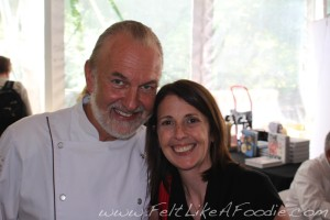 "Chef Hubert Keller was so incredibly nice and his book is one of my coolest ""SOUVENIRS"""