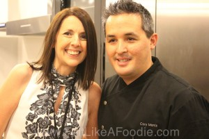 Chef Cory Morris, one of my favorite Chicago Chefs!