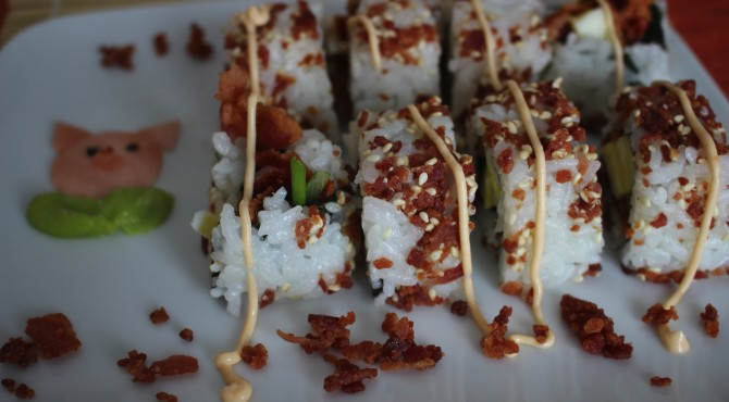 Bacon Eggs Maki Baconfest