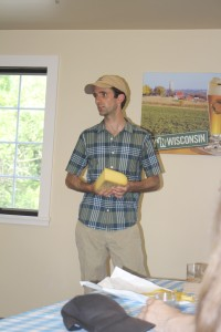 """Uplands Cheese specializes in making their cheese """"seasonally"""" in a true Alpine Style."""