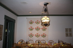 I loved this dining room!