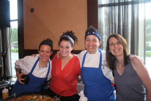 Ada representing for all the female chefs in Chicago!