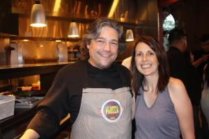 Chef Mark Sabbe of Mercat, one of my new buddies