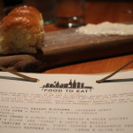 Parker house rolls with a coconut spread….it was awesome!!!