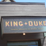 One final lunch at the King + Duke.  (Thanks to the Gunshow folks for telling me about this place.)