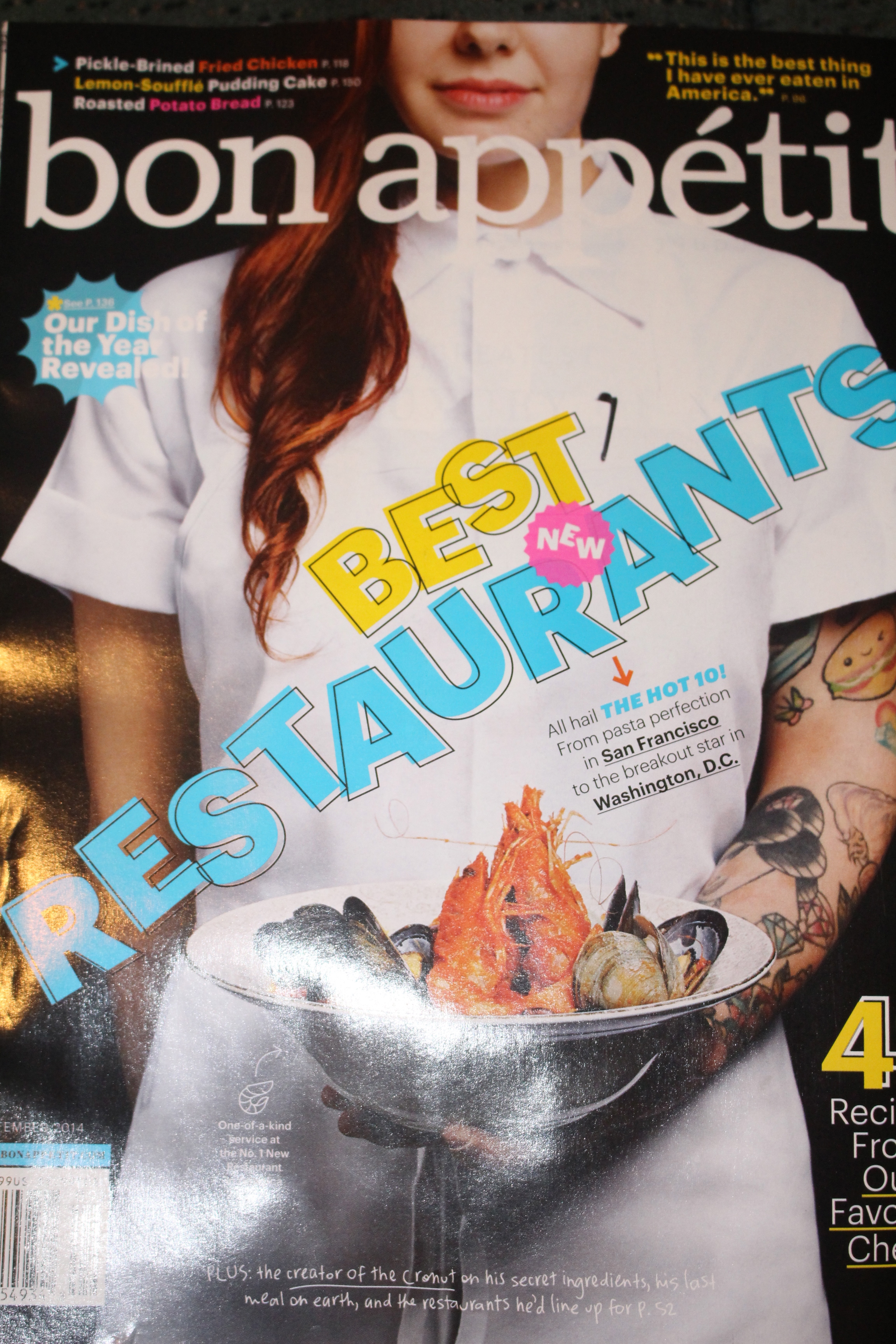 Bon Appetit Cook the Cover: September – Felt Like a Foodie