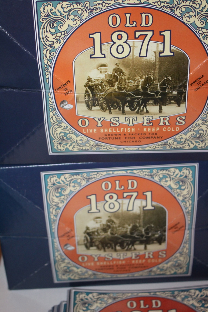 Great Oyster Competition hosted by the Fortune Fish and Old 1871 Oysters.  (My video didn't turn out.  Boo.)