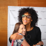Carla Hall from The Chew…Hootie Hoo Hug!