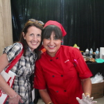 Monica Sharma from Red Butter making her debut in the Global Street Food Tent