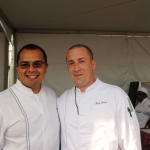 Chef Mario Garcia and Mark Brand from 720 South Bar & Grill (and my pals from my cheese -cation!)