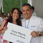 My absolute favorite chef, Chef Cory Morris from Mercat a la Planxa