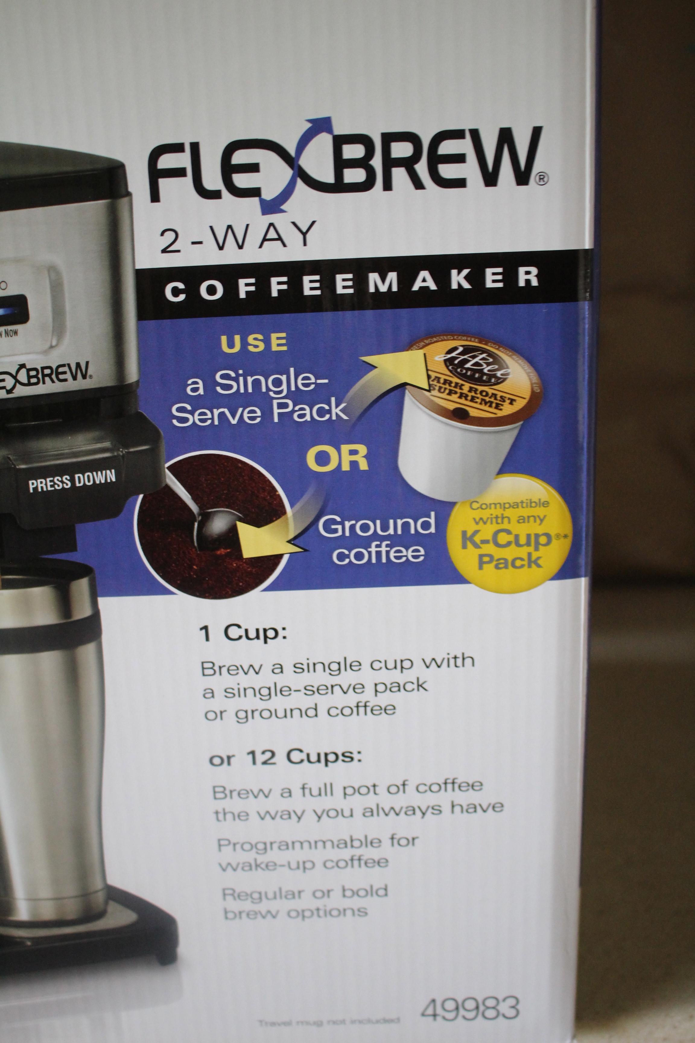 Coffee Maker Carafe And Single Cup Hamilton Beach Flexbrew 2 Way Coffee Maker Felt Like A Foodie