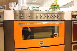 This was the most beautiful kitchen appliance (Bertazzoni) I've ever seen!